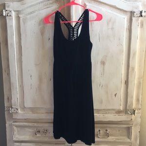 Black Cynthia Rowley midi dress